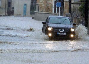 Flooding in Athienou